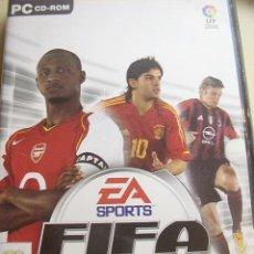 Videojuegos y Consolas: JUEGO FIFA FOOTBALL 2005 PARA PC EN CD-ROM ORIGINAL. . Lote 26831529