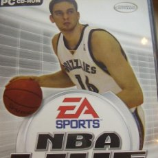 Videojuegos y Consolas: JUEGO ORIGINAL PARA PC CD-ROM NBA LIVE 2005.. Lote 25917285