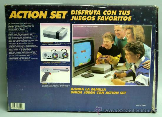 Videojuegos y Consolas: Video consola Mastergames MK II Action Set para televisor años 80 nueva sin uso - Foto 5 - 97105399