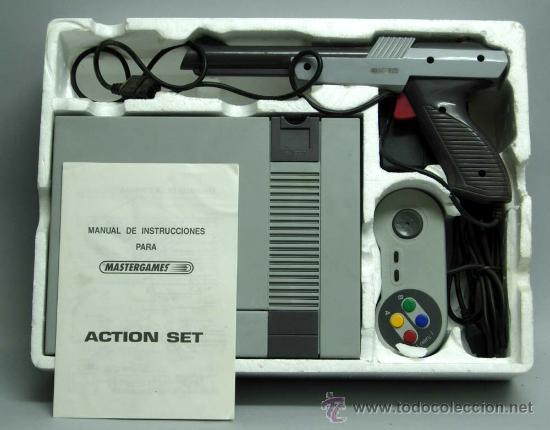 Videojuegos y Consolas: Video consola Mastergames MK II Action Set para televisor años 80 nueva sin uso - Foto 6 - 97105399