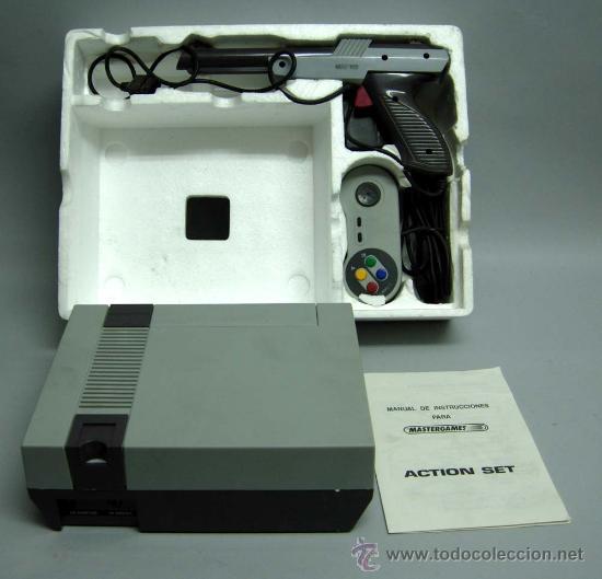 Videojuegos y Consolas: Video consola Mastergames MK II Action Set para televisor años 80 nueva sin uso - Foto 7 - 97105399