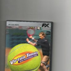 Videojuegos y Consolas: VIRTUA TENNIS SEGA PROFESSIONAL TENNIS .2005 . Lote 25996555