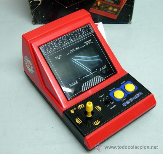 Maquina Portatil Juego Arcade Defender Made In Comprar Videojuegos