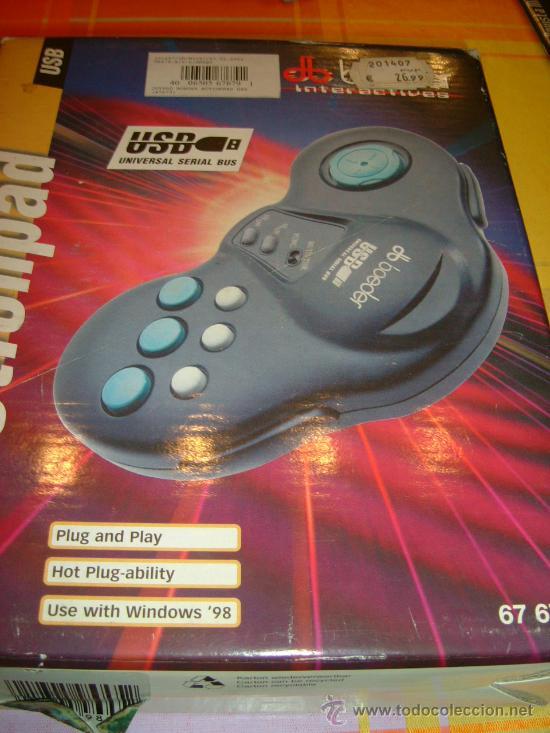 ACTIONPAD USB (Juguetes - Videojuegos y Consolas - Otros descatalogados)