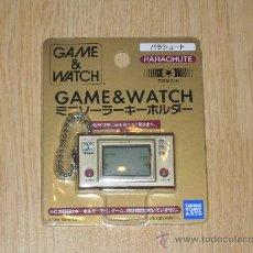 Videojuegos y Consolas: PARACHUTE NINTENDO GAME WATCH G&W LLAVERO SOLAR. Lote 26713185