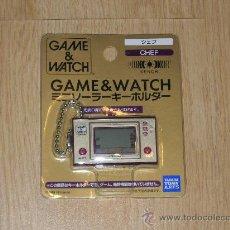Videojuegos y Consolas: CHEF NINTENDO GAME WATCH G&W LLAVERO SOLAR. Lote 26692639