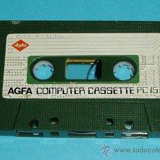 Videojuegos y Consolas: AGFA COMPUTER CASSETE PC 15. Lote 24061402