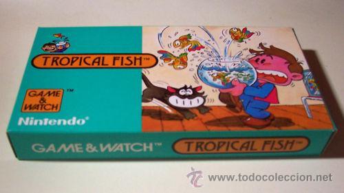 TROPICAL FISH NINTENDO GAME WATCH G&W NUEVA A ESTRENAR (Juguetes - Videojuegos y Consolas - Otros descatalogados)