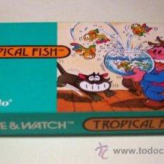 Videojuegos y Consolas: TROPICAL FISH NINTENDO GAME WATCH G&W NUEVA A ESTRENAR. Lote 27363922