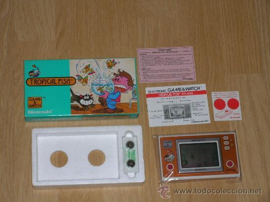 Videojuegos y Consolas: TROPICAL FISH Nintendo GAME WATCH G&W NUEVA a Estrenar - Foto 7 - 27363922