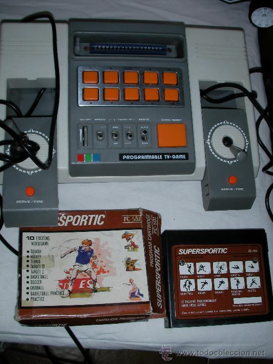 Antigua Consola Programable Tv Game Con Juego Comprar