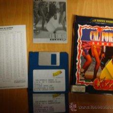 Videojuegos y Consolas: JUEGO DISKETE 3,5 PULGADAS CALIFORNIA GAMES II 1990. Lote 27701519