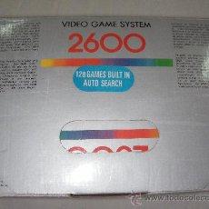 Videojuegos y Consolas: ANTIGUA CONSOLA VIDEO GAME SYSTEM 2600 NUEVA EN SU CAJA CON 128 JUEGOS. Lote 27920314