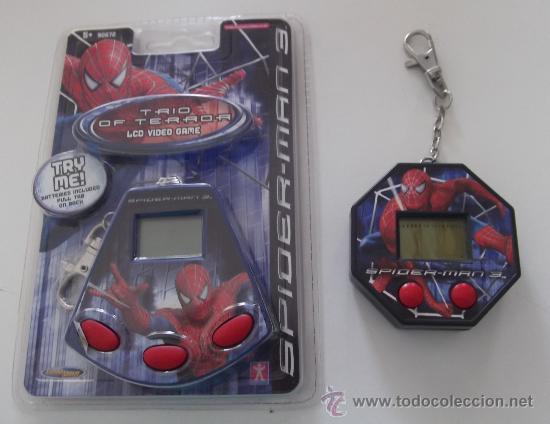 DOS SPIDERMAN LCD VIDEO GAMES MARVEL 2007 (Juguetes - Videojuegos y Consolas - Otros descatalogados)