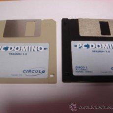 Videojuegos y Consolas - JUEGO PC DISKETE 3,5 PULGADAS DOMINO 1996 - 28644528