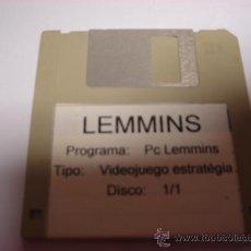Videojuegos y Consolas - JUEGO PC DISKETE 3,5 PULGADAS VIDEOJUEGO ESTRATEGIA LEMMINS - 28644558