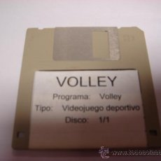 Videojuegos y Consolas: JUEGO PC DISKETE 3,5 PULGADAS VIDEOJUEGO DEPORTIVO VOLLEY. Lote 28644598