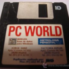 Videojuegos y Consolas: JUEGO PC DISKETE 3,5 PULGADAS ASTROLOGIA PERSONAL IBERDATA. Lote 28644718