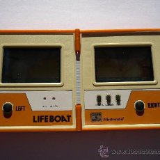 Videojuegos y Consolas: NINTENDO GAME & WATCH LIFEBOAT MULTI SCREEN GAME MAQUINITA. Lote 29858997