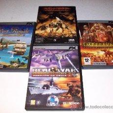 Videojuegos y Consolas: LOTE DE 4 VIDEOJUEGOS (PC. CD. ROM), NUEVOS A EXTRENAR ¡¡ VER !!. Lote 29863839