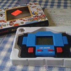Videojuegos y Consolas: MAQUINITA OCHENTERA HANDHELD GAME JUEGO LCD CAR RACING CARRERAS - COMPLETO Y NUEVO A ESTRENAR. Lote 42951201