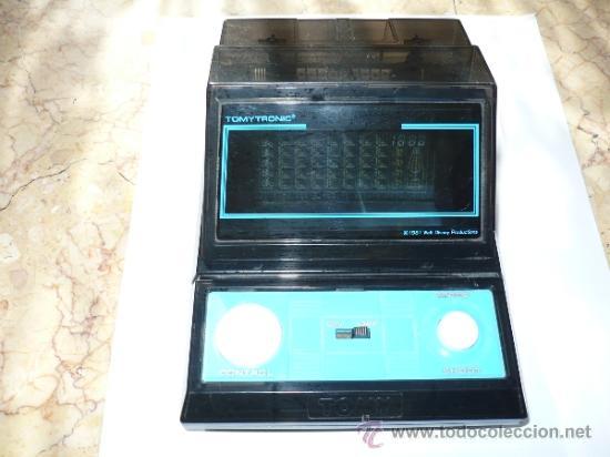 Videojuegos y Consolas: TOMYTRONIC TABLE TOP RARE 1981 GAME VINTAGE - Foto 4 - 32238307