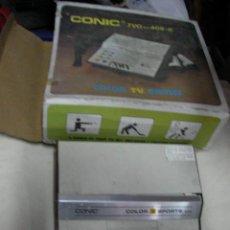 Videojuegos y Consolas: ANTIGUA CONSOLA CONIC DEPORTES EN SU CAJA. Lote 31419410