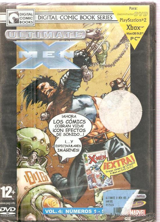 ULTIMATE X MEN - MARVEL DIGITAL COMIC BOOK SERIES - VOL. 4, NUMEROS 1-5 (Juguetes - Videojuegos y Consolas - Otros descatalogados)