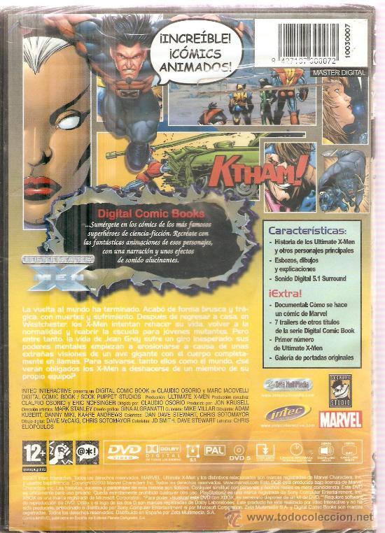 Videojuegos y Consolas: ULTIMATE X MEN - MARVEL DIGITAL COMIC BOOK SERIES - VOL. 4, NUMEROS 1-5 - Foto 2 - 31826676