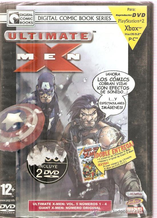 ULTIMATE X MEN - MARVEL DIGITAL COMIC BOOK SERIES - VOL. 5, NUMEROS 1-4 (Juguetes - Videojuegos y Consolas - Otros descatalogados)