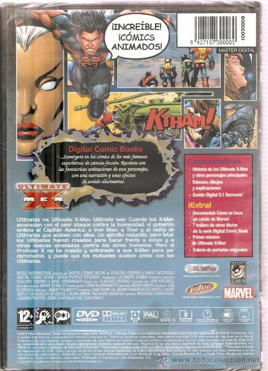Videojuegos y Consolas: ULTIMATE X MEN - MARVEL DIGITAL COMIC BOOK SERIES - VOL. 5, NUMEROS 1-4 - Foto 2 - 31826686