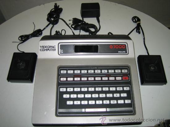 Videojuegos y Consolas: Videoconsola. Videopac Computer PHILIPS G7000, con 22 juegos. Funciona - Foto 3 - 33644839
