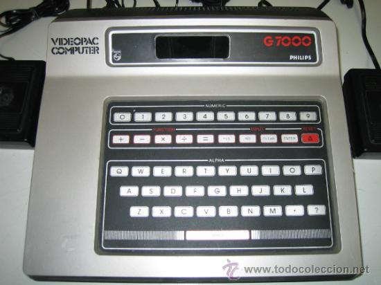 Videojuegos y Consolas: Videoconsola. Videopac Computer PHILIPS G7000, con 22 juegos. Funciona - Foto 4 - 33644839