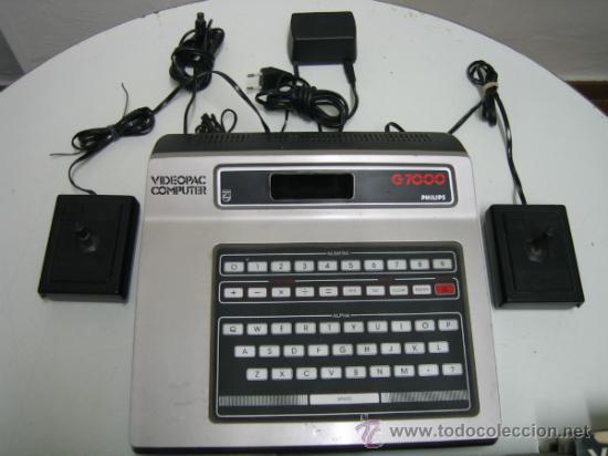 Videojuegos y Consolas: Videoconsola. Videopac Computer PHILIPS G7000, con 22 juegos. Funciona - Foto 5 - 33644839