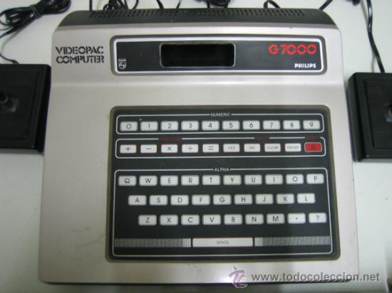 Videojuegos y Consolas: Videoconsola. Videopac Computer PHILIPS G7000, con 22 juegos. Funciona - Foto 11 - 33644839
