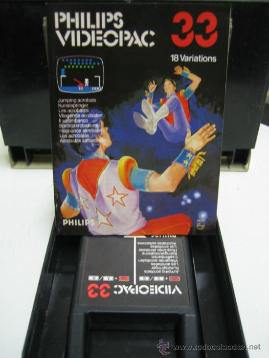Videojuegos y Consolas: Videoconsola. Videopac Computer PHILIPS G7000, con 22 juegos. Funciona - Foto 18 - 33644839