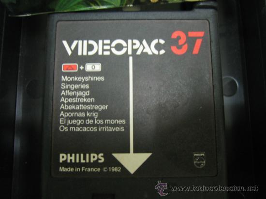 Videojuegos y Consolas: Videoconsola. Videopac Computer PHILIPS G7000, con 22 juegos. Funciona - Foto 21 - 33644839