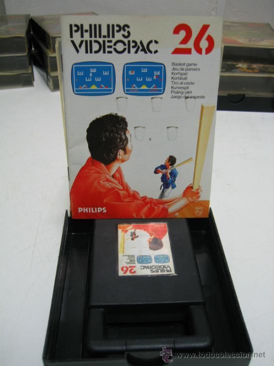 Videojuegos y Consolas: Videoconsola. Videopac Computer PHILIPS G7000, con 22 juegos. Funciona - Foto 25 - 33644839
