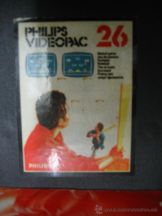 Videojuegos y Consolas: Videoconsola. Videopac Computer PHILIPS G7000, con 22 juegos. Funciona - Foto 26 - 33644839