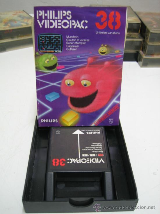 Videojuegos y Consolas: Videoconsola. Videopac Computer PHILIPS G7000, con 22 juegos. Funciona - Foto 28 - 33644839