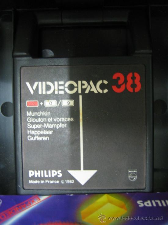 Videojuegos y Consolas: Videoconsola. Videopac Computer PHILIPS G7000, con 22 juegos. Funciona - Foto 29 - 33644839