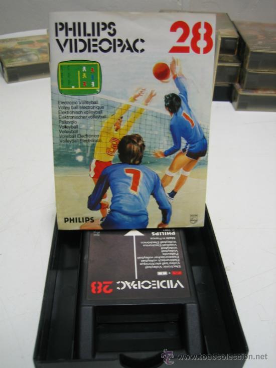 Videojuegos y Consolas: Videoconsola. Videopac Computer PHILIPS G7000, con 22 juegos. Funciona - Foto 30 - 33644839