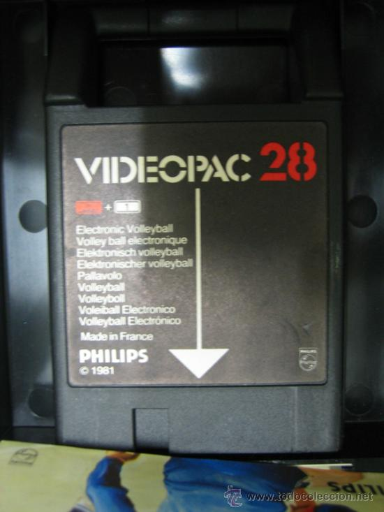 Videojuegos y Consolas: Videoconsola. Videopac Computer PHILIPS G7000, con 22 juegos. Funciona - Foto 31 - 33644839