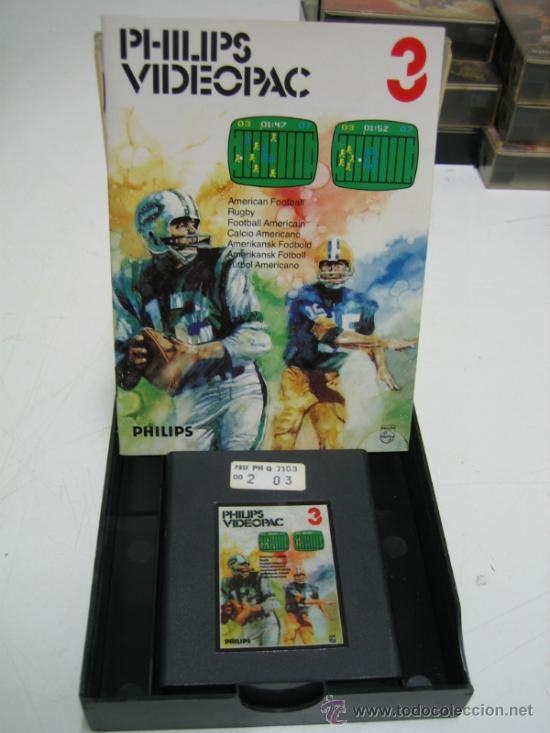 Videojuegos y Consolas: Videoconsola. Videopac Computer PHILIPS G7000, con 22 juegos. Funciona - Foto 32 - 33644839