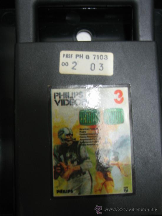 Videojuegos y Consolas: Videoconsola. Videopac Computer PHILIPS G7000, con 22 juegos. Funciona - Foto 33 - 33644839