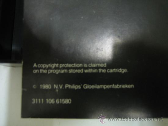 Videojuegos y Consolas: Videoconsola. Videopac Computer PHILIPS G7000, con 22 juegos. Funciona - Foto 34 - 33644839