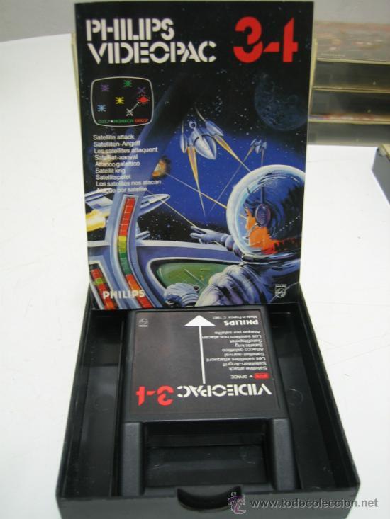 Videojuegos y Consolas: Videoconsola. Videopac Computer PHILIPS G7000, con 22 juegos. Funciona - Foto 35 - 33644839