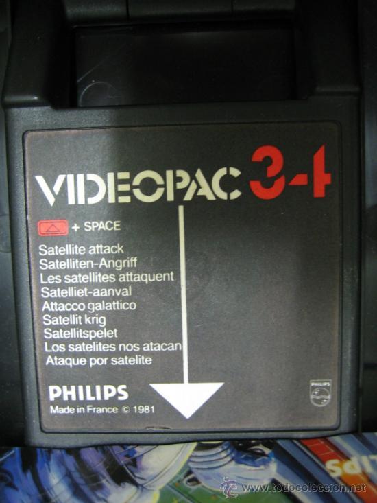 Videojuegos y Consolas: Videoconsola. Videopac Computer PHILIPS G7000, con 22 juegos. Funciona - Foto 36 - 33644839