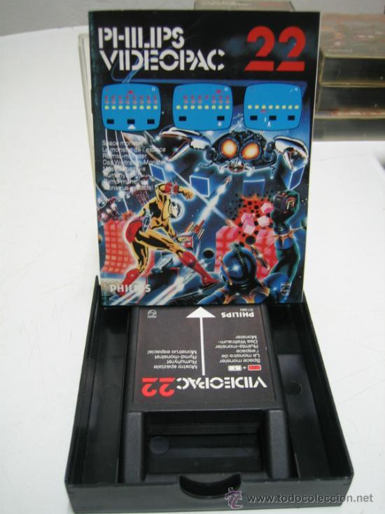 Videojuegos y Consolas: Videoconsola. Videopac Computer PHILIPS G7000, con 22 juegos. Funciona - Foto 37 - 33644839