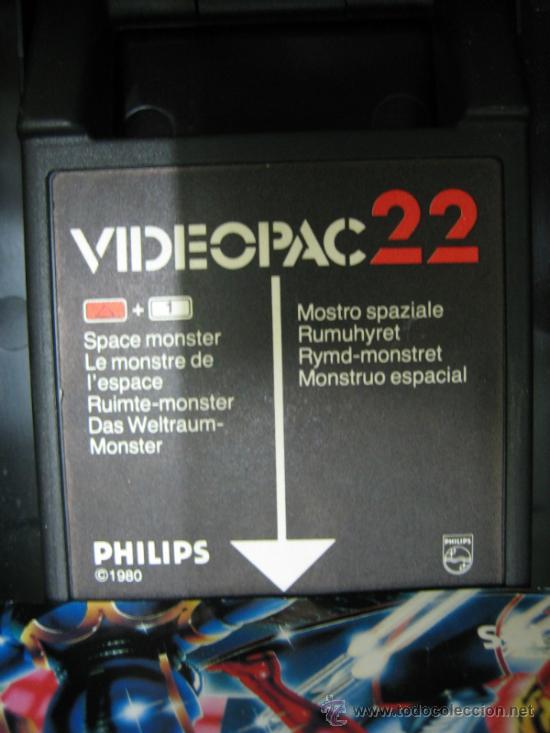 Videojuegos y Consolas: Videoconsola. Videopac Computer PHILIPS G7000, con 22 juegos. Funciona - Foto 38 - 33644839